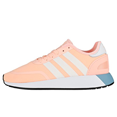 adidas Women's N-5923 W Gymnastics Shoes Orange (Clear Orange/Ftwr White/Core Black) lK42V1