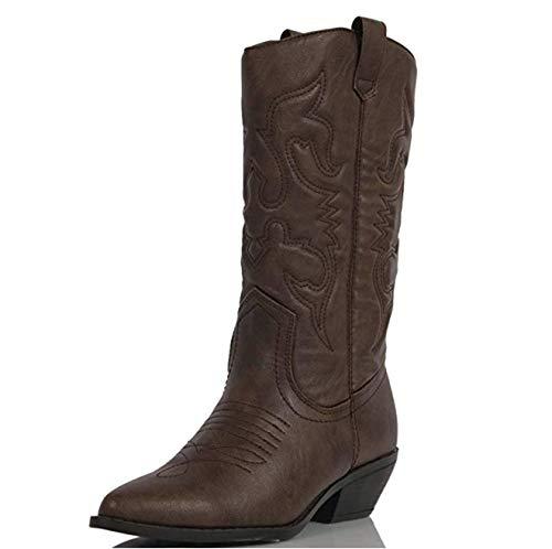 soda womens cowboy boots - 9
