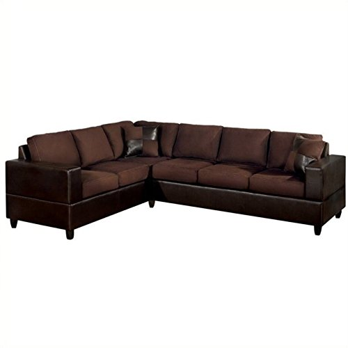 poundex-bobkona-trenton-2-piece-sectional-with-accent-pillows-in-chocolate