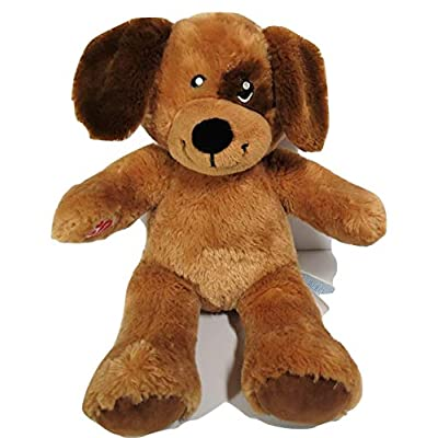 Build A Bear Workshop Stuffed Plush Brown Puppy Dog Brown Playful Lil Pup: Toys & Games