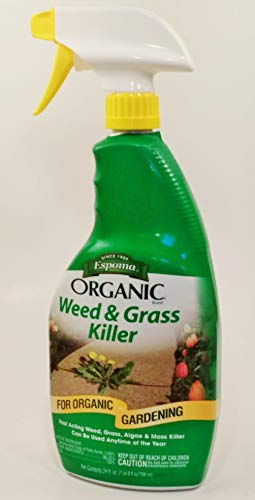 Espoma 839329 Organic Weed and Grass Killer, Brown/A