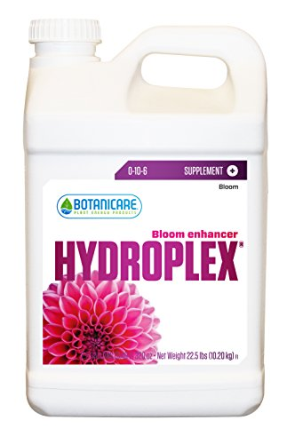 Botanicare HYDROPLEX Bloom Enhancer Plant Supplement 0-10-6 Formula, 2.5-Gallon by Botanicare