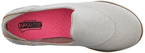 Skechers Flex Women's Slip Go HPK Pink Walk on Slipper Trainers vqv7Z