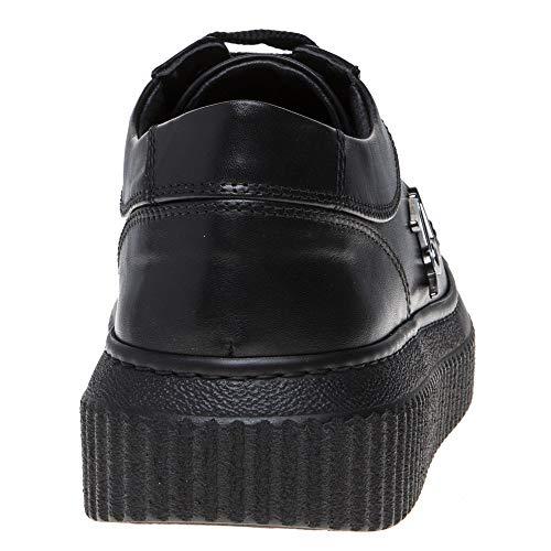 Negro Kreeper Zapatillas Lo Lagerfeld Karl Mujer qXwx4K1
