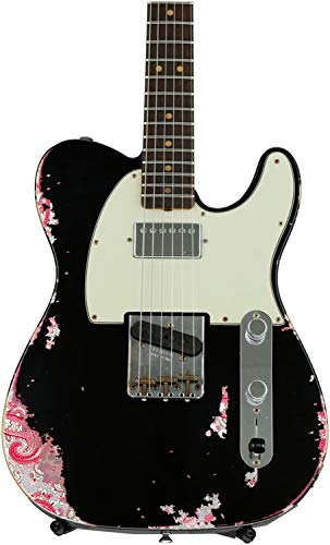 Fender Custom Shop Limited Edition Heavy Relic H/S Telecaster - Aged Black over Pink ()