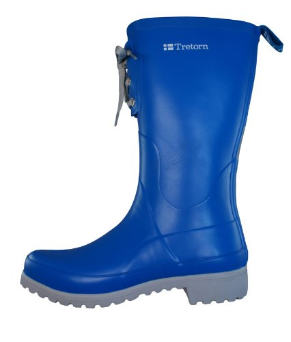 Tretorn Soho Womens Rubber Wellington Boots - Blue