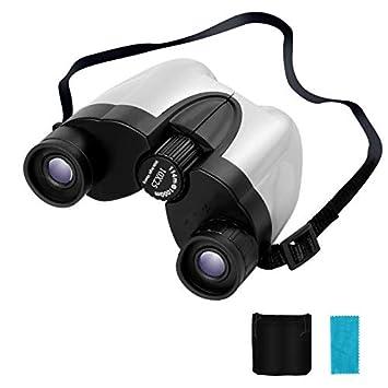 ポロ式 7.5° ブラック 10×25 折り畳み 双眼鏡 10倍 Cobiz Bak4
