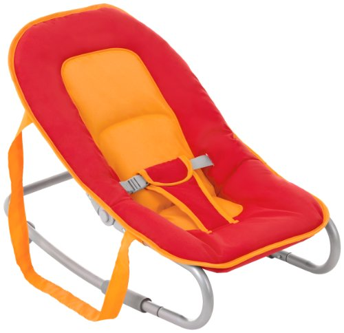 Hauck Lounger Red/Safran Wippe, rot, orange