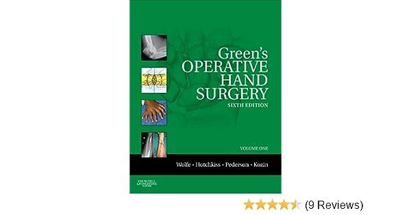 Green's Operative Hand Surgery: 2-Volume Set: 9781416052791