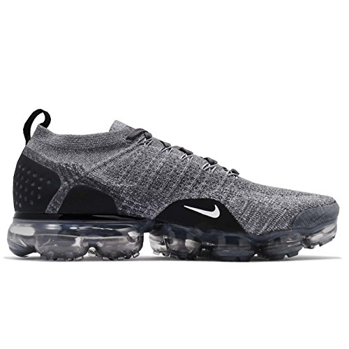 Nike Vapormax Aire Flyknit 2 942842-002 Hombre Oscuro / Negro-lobo Gris Gris-negro 100% auténtico en línea 7B4CKJu