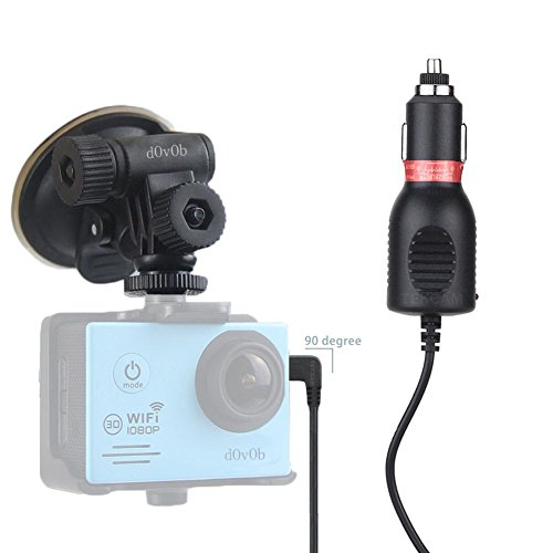 dovob-action-camera-car-charger-mount-suction-cup-bracket-with-sports-camera-frame-for-dbpower-sjcam
