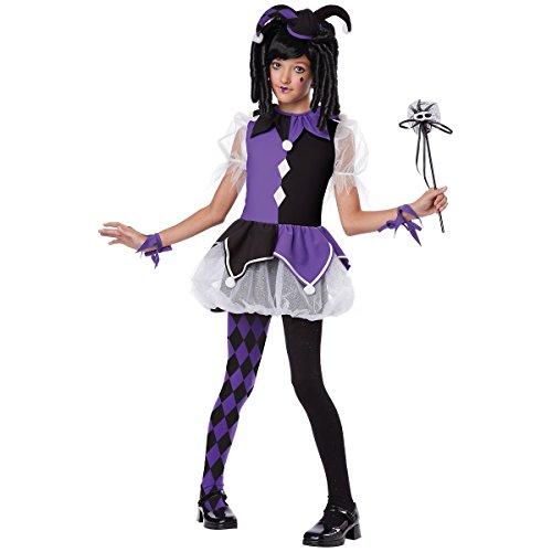 California Costumes Jester Girl Costume, One Color, 4-6 (Fantasy Clown Childrens Costumes)