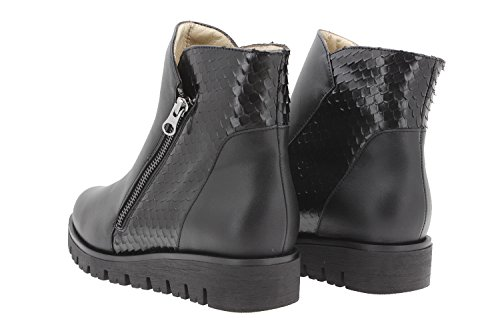 Woman comfort leather shoes Piesanto 9907 bootie casual shoe wide comfort ojnvqrlR