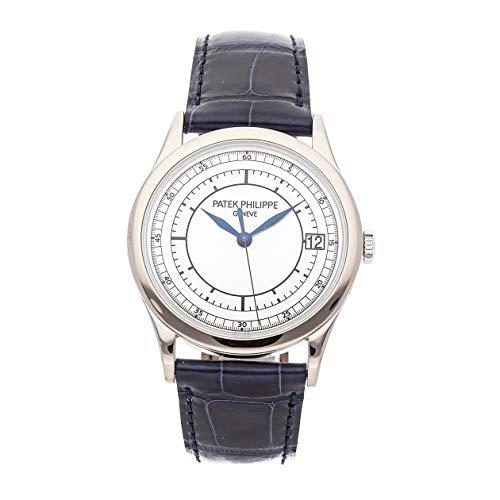 Patek Philippe Calatrava Mechanical (Automatic) Silver Dial Mens Watch 5296G-001 (Certified - Watch Philippe Patek Calatrava Mechanical