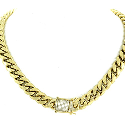 14mm Cuban Link Chain Stainless product image