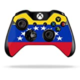 Protective Vinyl Skin Decal Cover for Microsoft Xbox One/One S Controller wrap sticker skins Venezuela Flag