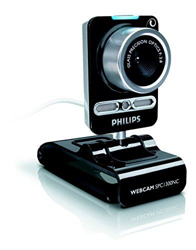 Philips Webcam SPC1290NC with HD Video and Crystal Clear Sound Quality ()