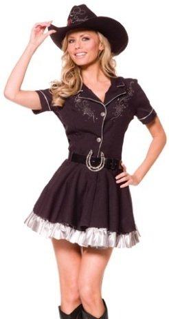 Rhinestone cowgirl costume