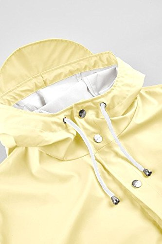 Rains Impermeable Wax Jacket Hombre Amarillo para Amarillo 55Zrqw