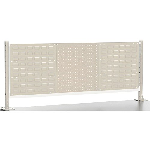 Risers With Louver/Pegboard Panel for 60