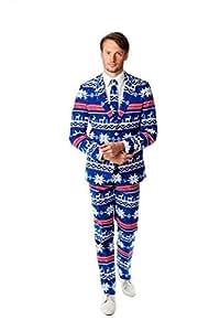 Amazon.com: Opposuits la Rudolph disfraz de Navidad traje ...
