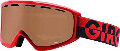 Giro Index Snow Goggles White Pocket Square - Amber Rose - Giro Index Otg Snow Goggles