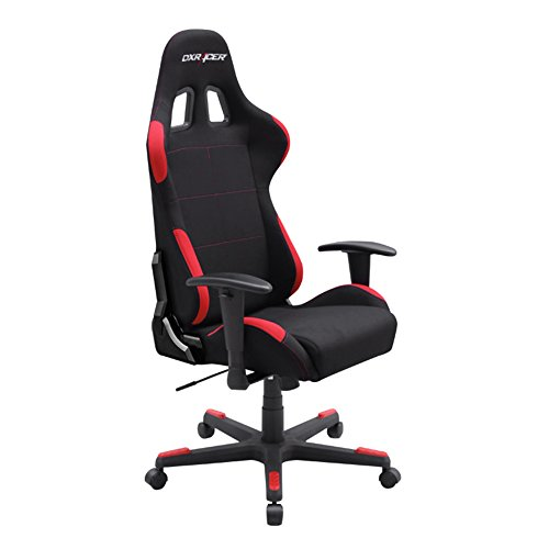 41t6dLgGD2L - DXRacer-Formula-Series-OHFD01NR-Black-Racing-Seat-Office-DX-Racer-Chair-Gaming-Ergonomic-adjustable-Computer-Chair-with-Included-Head-and-Lumbar-Support-Pillows-BlackRed