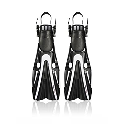 New Mares Volo Power Scuba Diving Fins - Silver (Size Small 6-9)