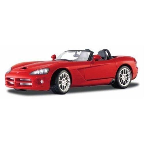 Maisto Die Cast 1:18 Scale Red 2003 Dodge Viper (2003 Dodge Viper Srt 10)