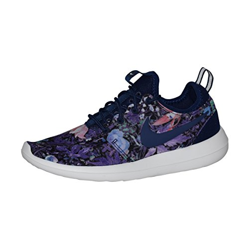 Nike Womens Roshe Two Print Blue / White