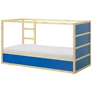 Amazon.com: New Ikea Kura Children's Reversible Bed Dark ...