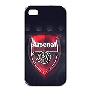 Arsenal Football Club Logo Design 3D Hard Plastic Case Cover For Iphone 4