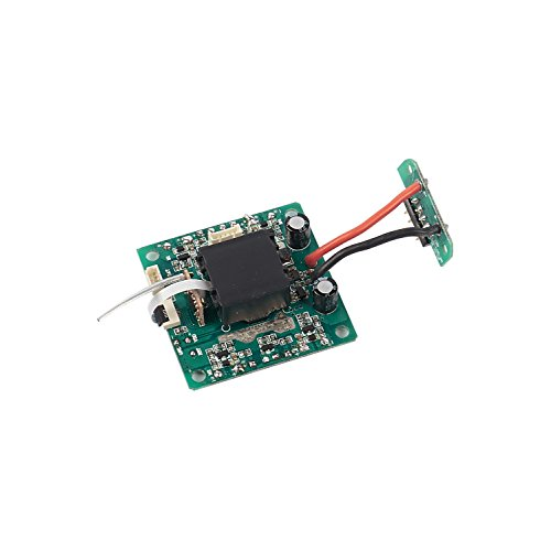 Force1 Drones Spare Parts Receiver Board - Drone Receiver Board for U49W Blue Heron Camera Drone with WiFi, RC Quadcopter Replacement Parts