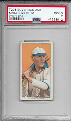 1909-11 T206 Baseball Kaiser Wilhelm With Bat Card for sale  Delivered anywhere in USA