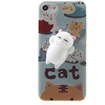 Amazon.com: Squishy Cat iPhone 6 Case, 3D Cute Soft