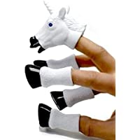 CONNECTWIDE® A Five-Piece Finger Puppet Set That Transforms Your Hand Into a Majestic Hand Game