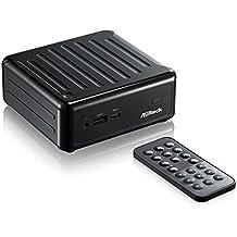 ASRock BEEBOX N3000/B/BB Intel N3000/ WiFi/ A&GbE/ PC Barebone System (Black)