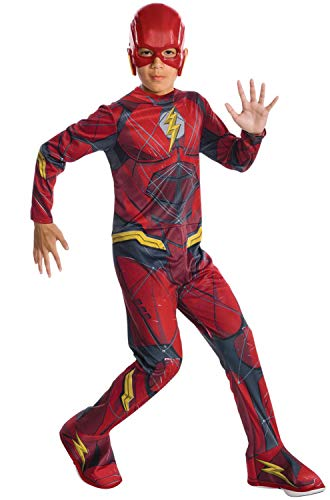 Rubie's Costume Boys Justice League The Flash Costume, Large, Multicolor ()