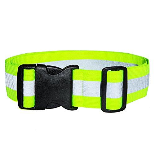 Best2go - Reflective Glow Belt Safety Gear, Pt Belt, for Running Cycling Walking Marathon Military (Longer Shipping)