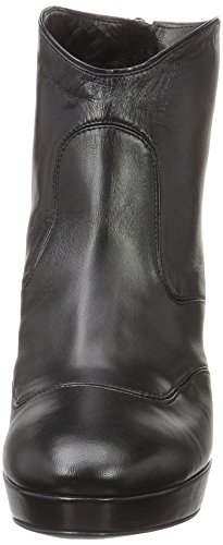 Alberto Fermani Damen Fashion Shoes Women Kurzschaft Stiefel Schwarz (Black)