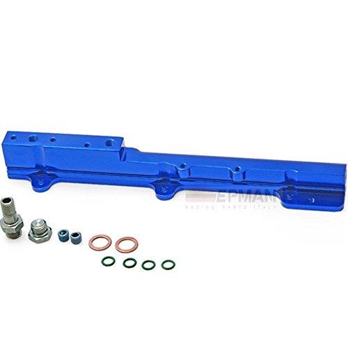 B16 Fuel Rail (Aluminum Fuel Rail Fit For Honda Civic Si B16 B16a B16a2 B-Series Fuel Injector Rail)