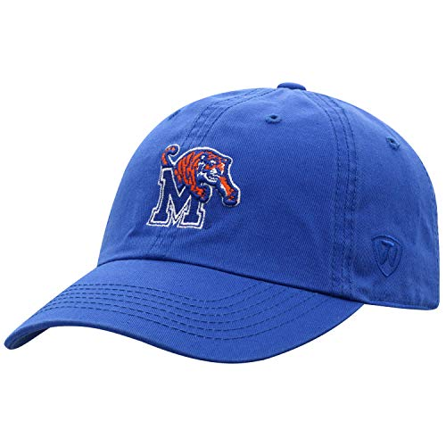 Top of the World Memphis Tigers Men's Hat Icon, Navy, Adjustable