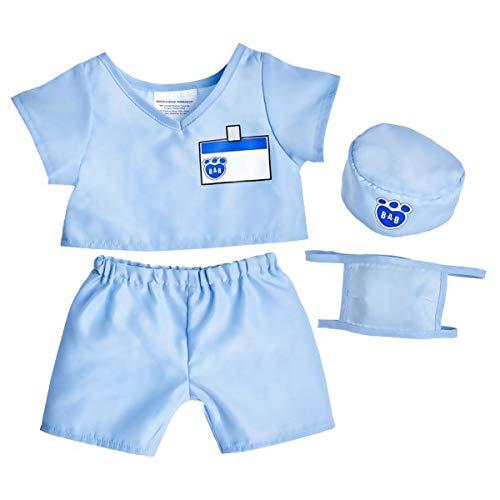 Build A Bear Workshop Blue Scrubs 4 pc.