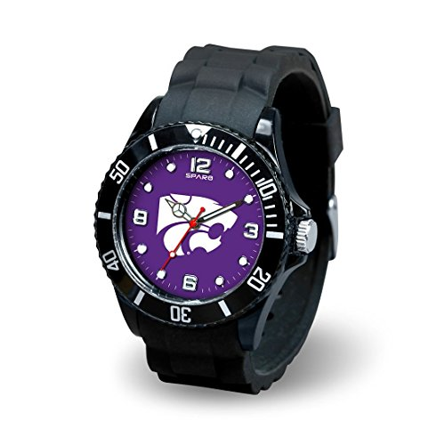 NCAA Kansas State Wildcats Spirit Watch, Black - Kansas State Wildcats Watch