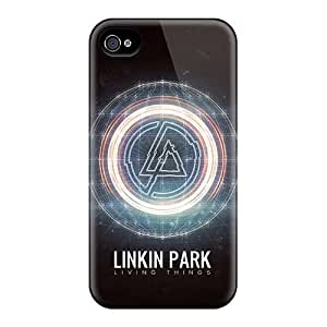 EricHowe Iphone 4/4s Excellent Cell-phone Hard Covers Allow Personal Design Beautiful Linkin Park Band Pattern [VDG5729kNQI]