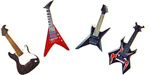 Bolsita de 8 confeti de mesa guitarra Rock: Amazon.es: Hogar