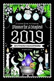 : Coloring Book of Shadows: Planner for a Magical 2019
