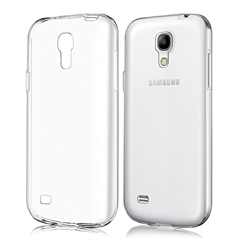 kwmobile Crystal Case Cover for Samsung Galaxy S4 Mini made of TPU Silicone - transparent clear Protection Case in transparent
