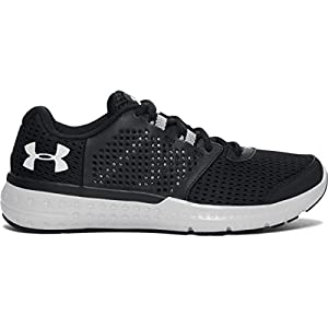 Under Armour Women's Micro G Fuel RN, Black/Glacier Gray/Glacier Gray, 8 B(M) US