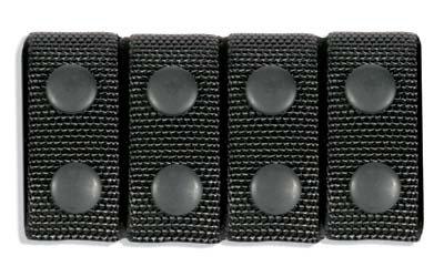 BlackHawk Duty Gear Traditional Belt Keeper Black Cordura Nylon 44B351BK